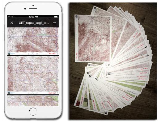 Grand Enchantment Trail Topo Map Set
